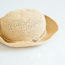 引き揃えの帽子