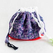 8oompahのアフガン編みバッグ