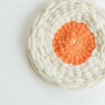 【予約不要】ダンボール織の円座