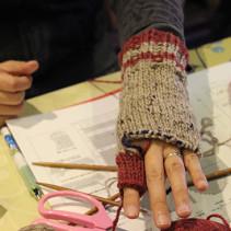 続々完成!5本指の手袋