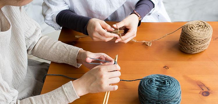 編み物初心者さんのためのページ