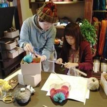 シュトゥルンペの編み物教室レポート
