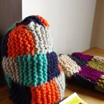 『表あみだけで編む帽子を編もう!』準備中です。