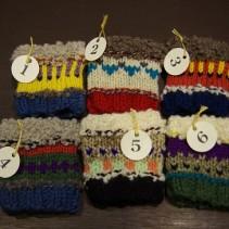 シュトゥルンペの編み物教室 リストウォーマー・レポート