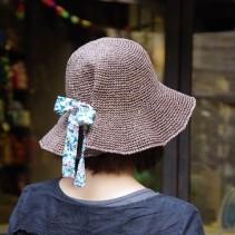 エコアンダリヤで編む帽子の仕上げ方