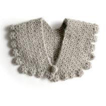 リフ編みのティペット
