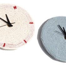 細編みの時計